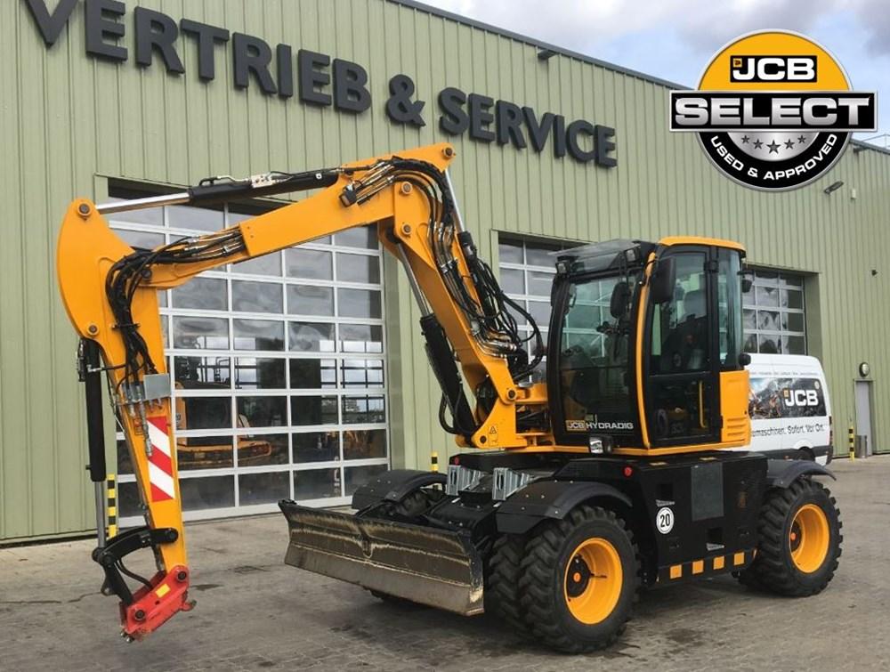 JCB Hydradig 110W Garantie/Warranty 20 or 40 km/h