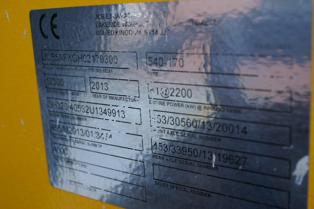 JCB 540-170 Telehandler. -gall13
