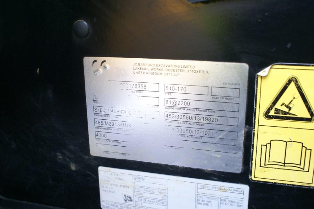 JCB 540-170  Telehandler-gall11
